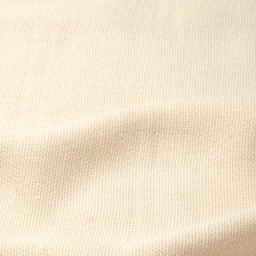 しっとりリッチなシルク100%三重ガーゼケット シングル (ア)アイボリー(無染色) 生地アップ 熟練の技で叶えたオールシルクの三重ガーゼ