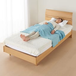 ふわふわ感が長く続く 新・くしゅくしゅ&ふわふわタオル寝具シリーズ タオルケット (エ)ブルーグリーン おなかケット ちょっとお昼寝したいときや、お子様用にも◎