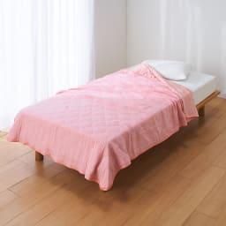 ひんやり除湿寝具 デオアイスネオシリーズ さらさらケット (イ)ピンク