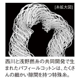 ふんわり とろける肌触り 魅惑の五重ガーゼケット シングル 西川と浅野撚糸が生んだパフィールコットン