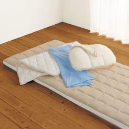 ブレスエアー(R)敷布団ネオ専用 ひんやり冷感シーツ ブレスエアーのお得なセットもございます。