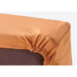 継ぎ目のないマットレスの収納式折りたたみ電動ベッド カバー付き カバーは取り付け・取り外しもカンタン。
