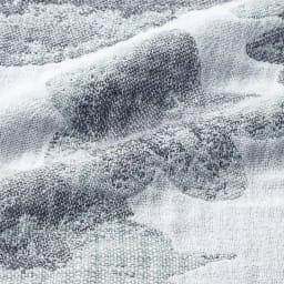 ポルトガル製コットンカバー〈プリマヴェーラ〉 ソファカバー (イ)グレー 生地アップ