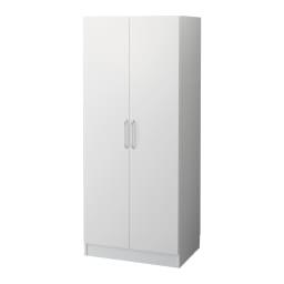組立不要 たっぷりハウスキーピング収納庫 幅75・奥行45cm 奥行45cmタイプは洗面所の収納庫として大活躍します。