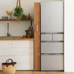 組立不要!52サイズ・3色の156タイプから選べる頑丈すき間ワゴン 幅14奥行55cm 冷蔵庫横の中途半端なすき間にもジャストフィット。