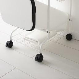 省スペース!高機能インテリアタワーダストボックス  5段・高さ147cm ゴミ袋や新聞・雑誌類のちょい置きに便利。