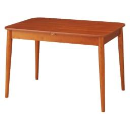 ウォールナット伸長式ダイニング ダイニングセット 伸長式テーブル お得な3点セット 伸長式テーブル・幅110・150cm+ファブリック回転チェア2脚組 通常時幅110cm