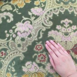 イタリア製金華山織DXソファ カウチソファ やわらかな手触りで、体をふんわり包み込みます。