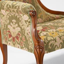 イタリア製金華山織DXソファ カウチソファ 繊細に織りなされた金華山織のファブリックを贅沢に使用。