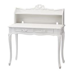 シャビーシック フレンチ リビング収納家具シリーズ デスク 大人の女性のための、上品でシンプルな机です。