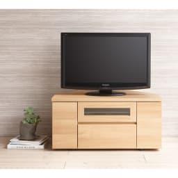 天然木調お掃除がしやすいコーナーテレビ台 幅90cm スッキリ感が人気。