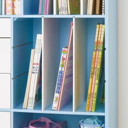 学校の準備がしやすいランドセルラック 教科書やノートがすっきり整理できます。