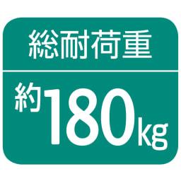 奥行30cm 光沢ブラッククローゼットハンガーラック ロータイプ・幅140~250cm 【棚部分】約80kg、【上段ハンガー部分】約80kg、【下段ハンガー部分】約20kg(第三者公的機関調べ)
