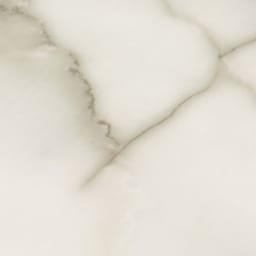 上下大理石調棚付き頑丈ハンガーラック ダブルタイプ(ハンガーバー2本) 幅120cm 上下の棚板は高級感のある大理石調。