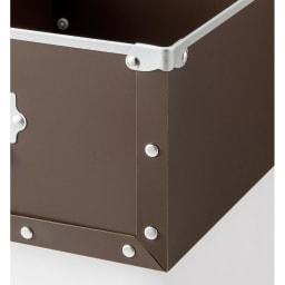 引き出し付き シンプルモダンハンガーラック 幅64cm (イ)ブラウン 収納物を選ばない引き出し付き。引き出しは軽くて丈夫な樹脂製。取り外せるので整理が簡単です。