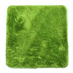 マイクロファイバークッション同色4枚組 (ア)グリーン