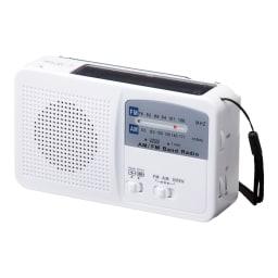 6WAY携帯充電ラジオ (ア)ホワイト