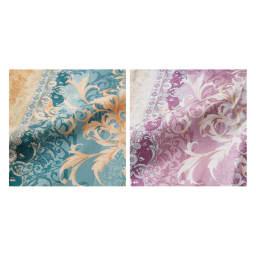 羽毛布団フルリフォームシリーズ プレミアムコース ダブル 超長綿の80番手の生地は、しなやかさや美しさはもちろん、シルクのようにしっとりなめらかで、肌ざわりの違いに驚かれること間違いなし。(※ダブルサイズは赤系のみになります)