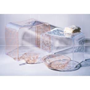 クリアローズ バスシリーズ バスチェアL&洗面器&手桶 写真