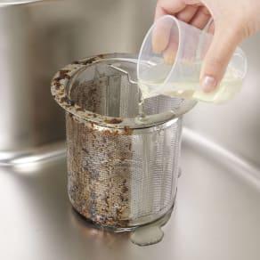 業務用 強力パイプ洗浄剤「ピカットロンプロ」 2Lセット(1L×2本) 写真