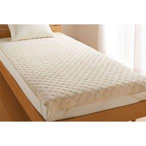 シングル(ふわふわ今治タオルの寝具シリーズ 敷きパッド) 写真