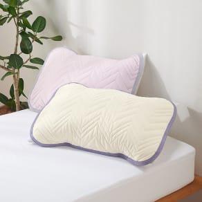 西川×ディノス クールコットン寝具シリーズ ピローパッド(同色2枚組) 普通判 写真