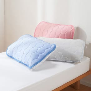 ひんやり除湿寝具 デオアイスネオシリーズ ピローパッド(2枚組) 普通判 写真