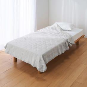 セミダブル(ひんやり除湿寝具 デオアイスネオシリーズ さらさらケット) 写真