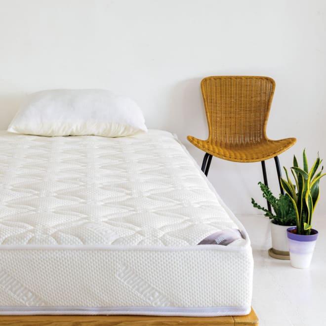 上質な眠りへと誘うブレスエアー(R)リュクス マットレス ※枕は商品に含まれません。