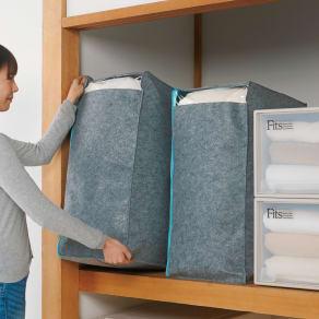 吸湿・消臭AirJob(R)布団収納袋 お得な2個組 大 写真