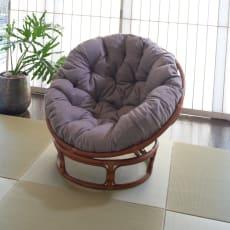 ラタン座椅子ソファシリーズ リラックスチェア