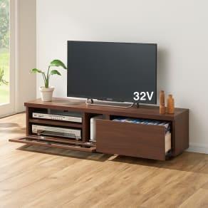 奥行30cm薄型テレビボード 幅120cm 写真