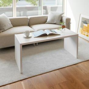 幅1cm刻みのサイズオーダーテーブル 幅60~180cm奥行30cm高さ50cm 写真