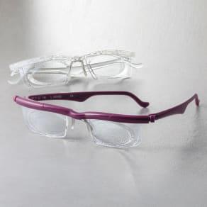 遠・近・老眼対応 自分で度数調整できるメガネ 写真