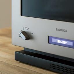 【送料無料/特典付き】BALMUDA The Range(バルミューダ ザ レンジ) ステンレスタイプ[先着100名様 レビューを書いて特典付き]
