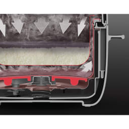 【送料無料】BALMUDA The Gohan バルミューダ ザ・ゴハン 炊飯器 [独自の二重釜構造] ザ・ゴハンは外釜と内釜の間に水を注ぎ、その蒸気で米を炊き上げる画期的なシステムを採用。