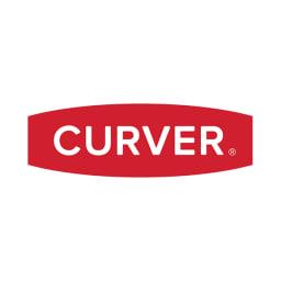 CURVER/カーバー ニット調ランドリーバスケット フタ付き縦型