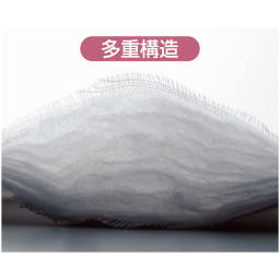 パシーマ(R) EXプラス先染めタイプ ピローケース 【純度の高い良質な綿を】不純物を徹底的に除去した医療用純度の高密度ガーゼと、繊維の長い綿だけを贅沢に使った脱脂綿の多重構造。品質にとことんこだわった寝具です。