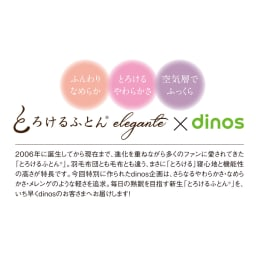dinos×とろけるふとん(R)肌掛け布団