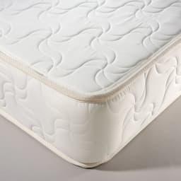 30サイズバリエーションベッド(国産マットレス付き) 長さ195cm 幅76~140cmまで5サイズ マットレスは国産のボンネルコイルマットレス