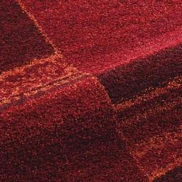ベルギー製エスニックラグ 同系色の色糸で織り上げているので、色に深みがあり、高級感があります。