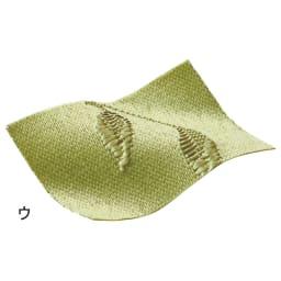 リーフ柄 形状記憶加工 多サイズ・多機能カーテン 幅100cm(2枚組)