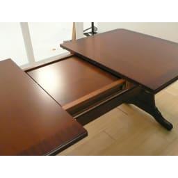 ベネチア調象がんシリーズ 伸長式ダイニングテーブル