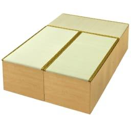 ユニット畳シリーズ お得なセット 3畳セット 幅120奥行180cm 高さ45cm (イ)ライトブラウン