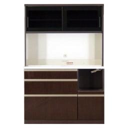 高機能 モダンシックキッチン キッチンボード 幅120奥行51高さ178cm お届けの商品はこちらになります。