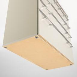 収納しやすいステンレストップカウンター ハイタイプ幅59.5cm