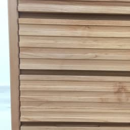 アルダー格子収納庫 幅45cm引出し・奥行25cm 美しい格子デザインが魅力です。