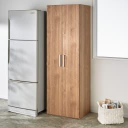 食器が探しやすく取り出しやすい食器棚 幅60cm コーディネート例(イ)ナチュラル