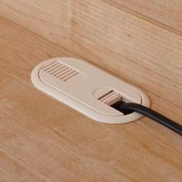 天然木調テレビ台ハイバックシリーズ テレビ台・幅120.5奥行45cm テレビ収納部にはコードを通せる配線孔があります。(※お届けの色とは異なります)