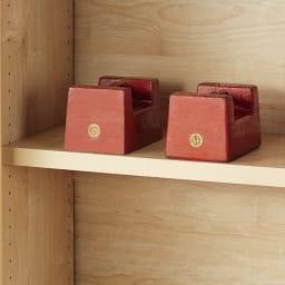 天然木調引き戸本棚 幅115cm奥行40cm 棚板一枚当たりの耐荷重「約20kg 」!